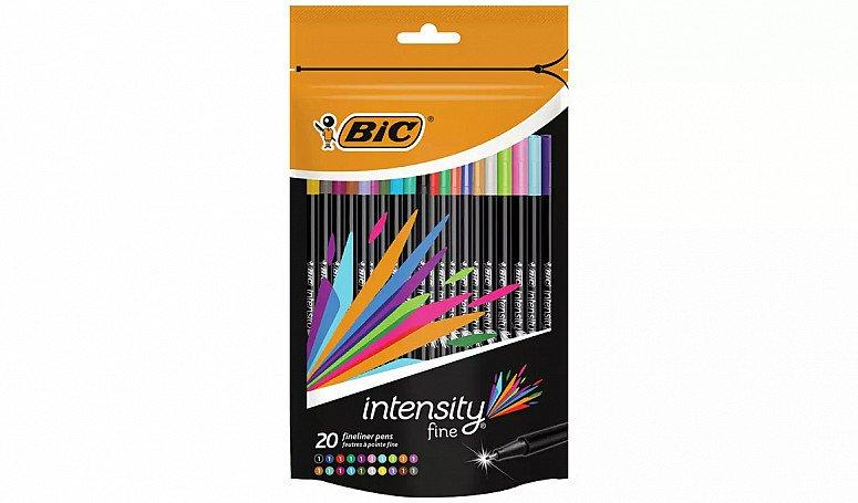 BACK TO SCHOOL - BIC Intensity Fineliner Pens - Pack of 20: £9.00!
