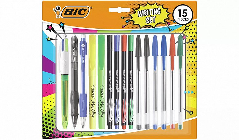 BACK TO SCHOOL - BIC Student 15 Piece Set: £8.00!