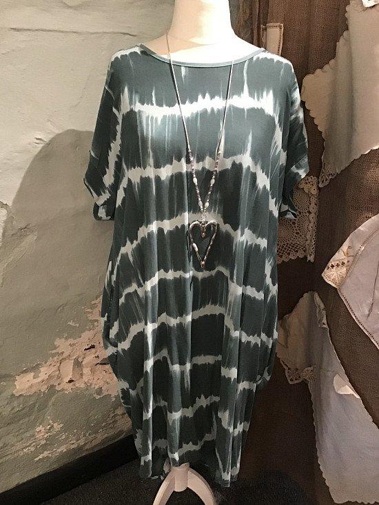 Twisted back dress