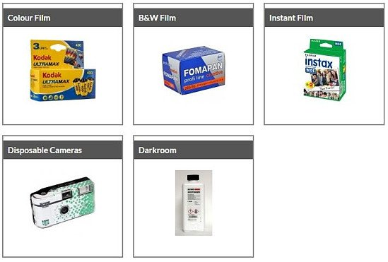 World Photography Day - Shop Film!