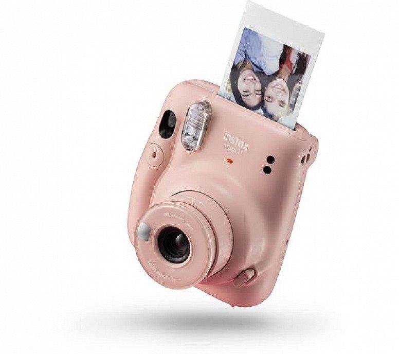 World Photography Day - INSTAX mini 11 Instant Camera, Blush Pink: £69.99!
