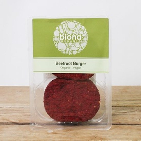 Shop Plant Based Foods - Biona Beetroot Burger: £4.19!