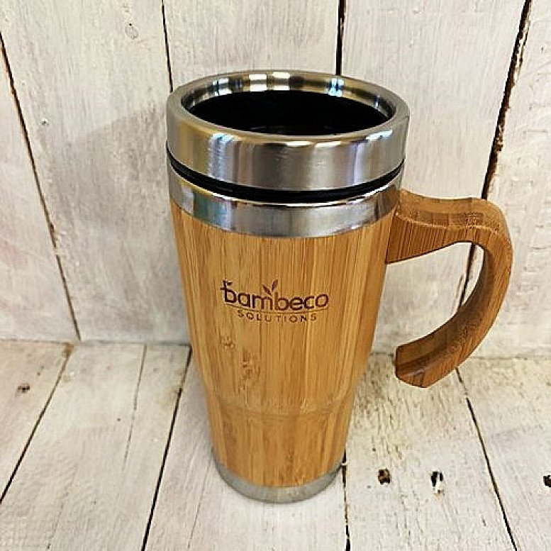 BAMBECO LARGE TRAVEL MUG 330ml - £16.99!