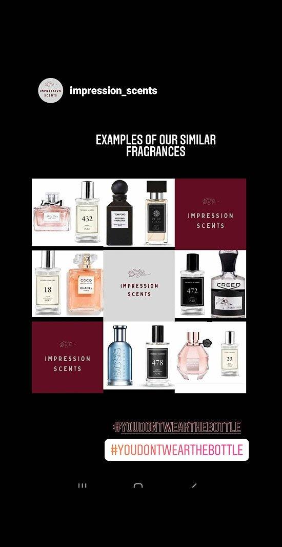 Amazing fragrances in stock