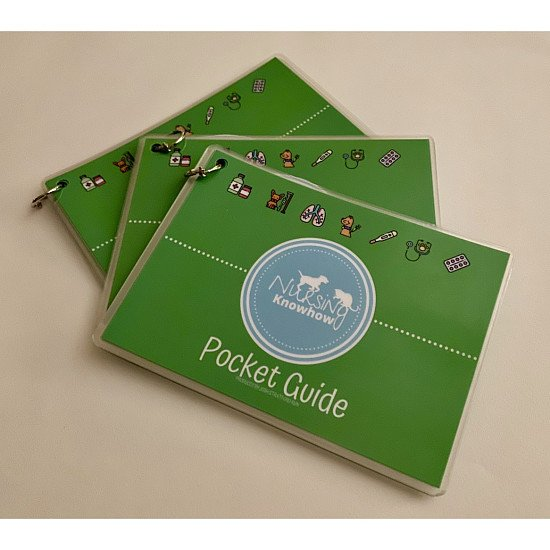 Nursing knowhow Vet Nurse pocket guides!