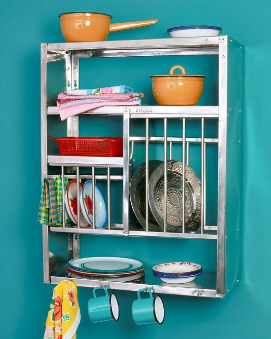 NEW IN - Indian Wall-Mounted Plate Rack £120.00!