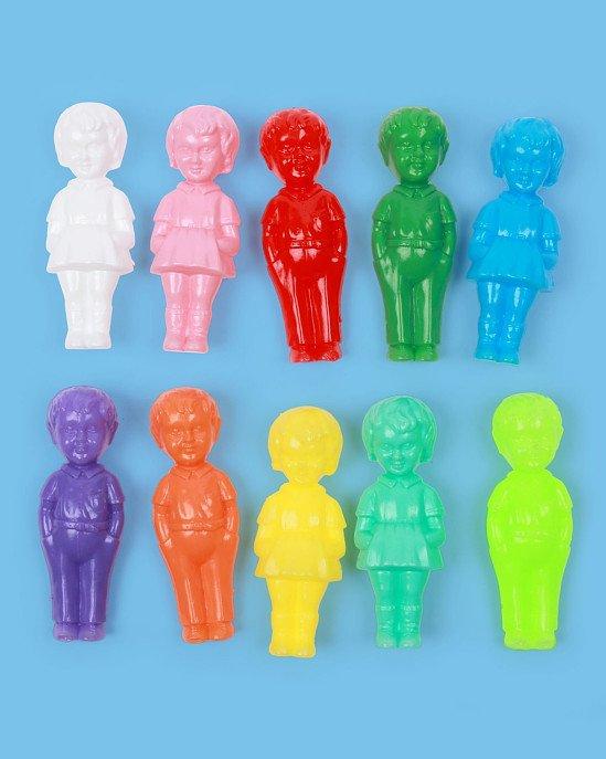 Mini Vintage Plastic Doll, Set of 10 £17.50!