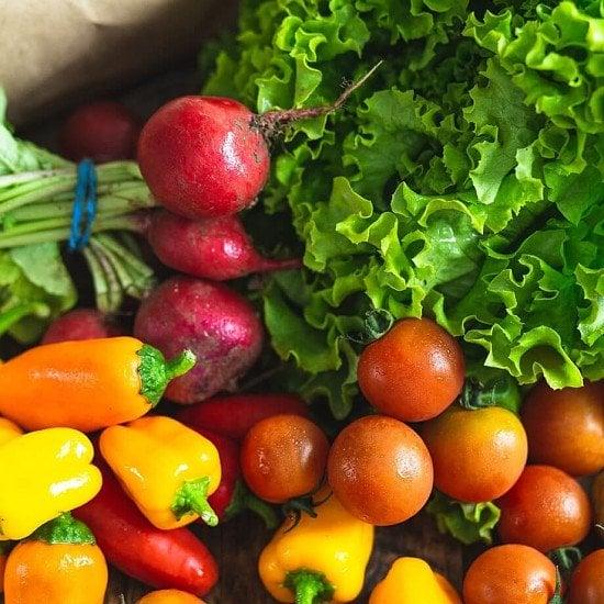 Organic salad bag - £9.15!