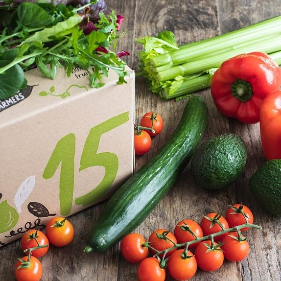 Organic salad box - £13.95!