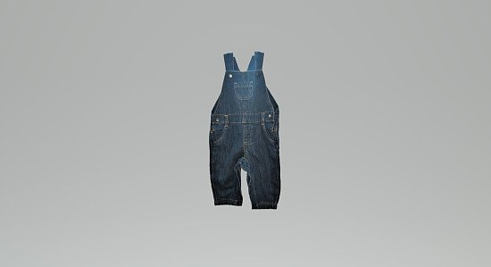 Cute Unisex Denim Dungaree
