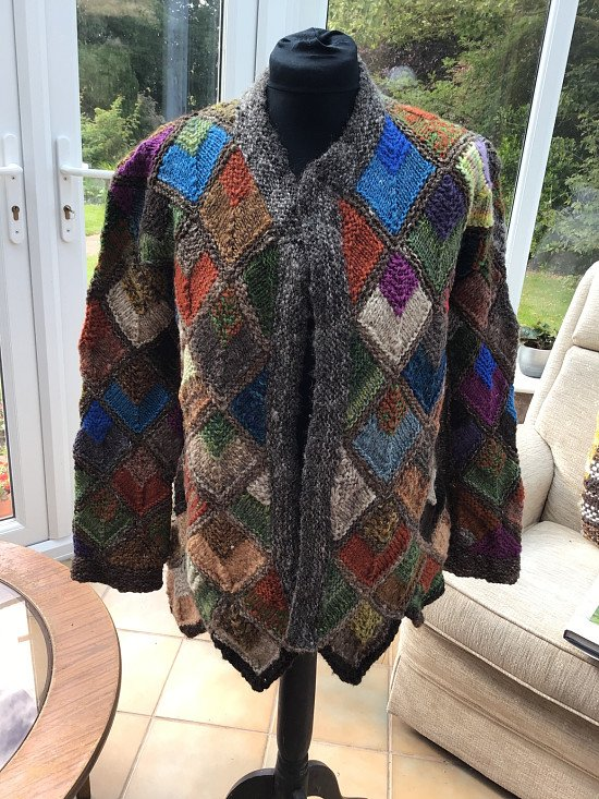 Diamond jacket