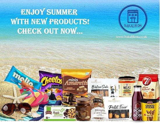 Bakalikon - Greek Online Foods & Drinks Supermarket