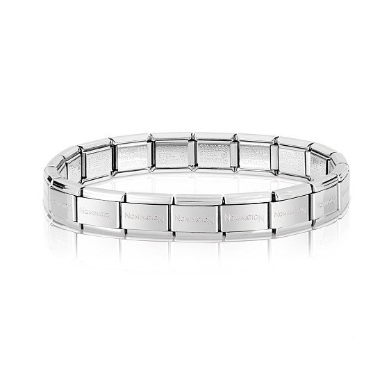 NOMINATION CLASSIC SILVER BASE BRACELET FROM £14.00