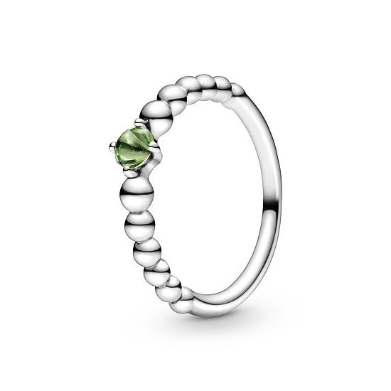 PANDORA AUGUST BIRTHSTONE BEADED RING - £40.00