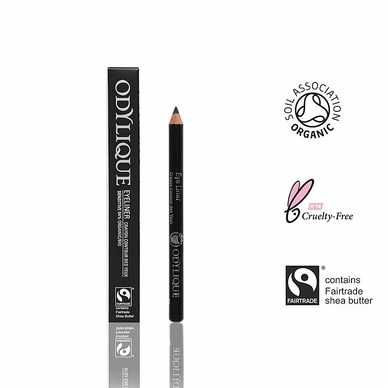 20% OFF - Odylique Organic Eyeliner Black 1.2g