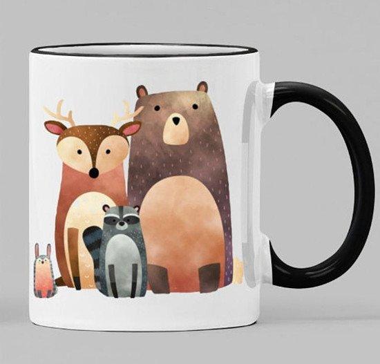 Woodland Animal mug
