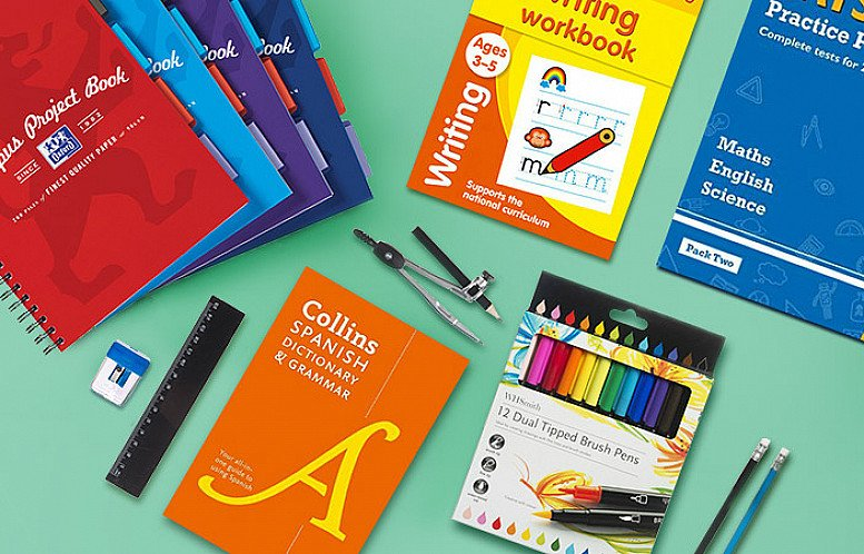 Buy Back to School at WHSmith!