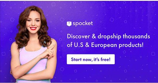 Spocket - Dropshipping, wholesale, Merchants