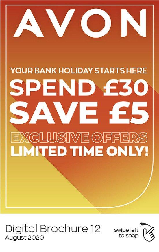 Spend £30 save £5