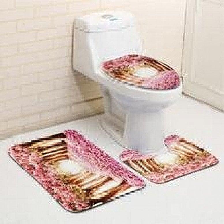 Name: Bathroom / Toilet Seat Cover Cushion Model: A00029