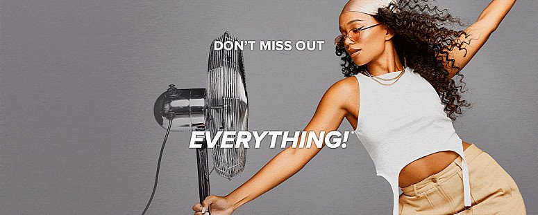 DON'T MISS OUT! 20% OFF EVERYTHING!*