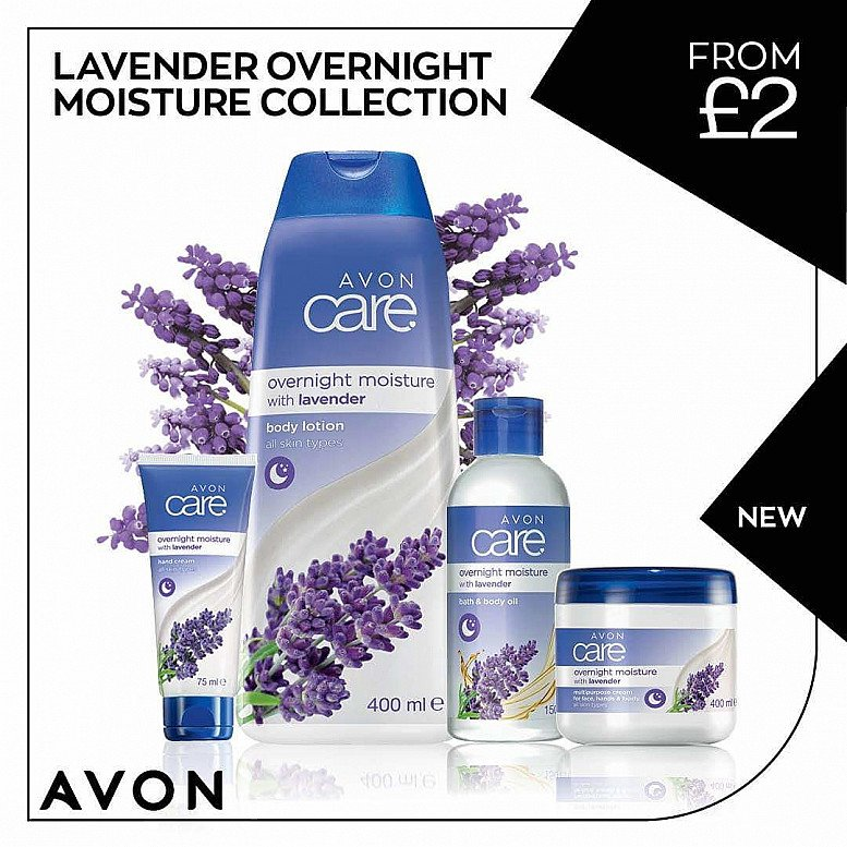Lavender overnight moisture collection