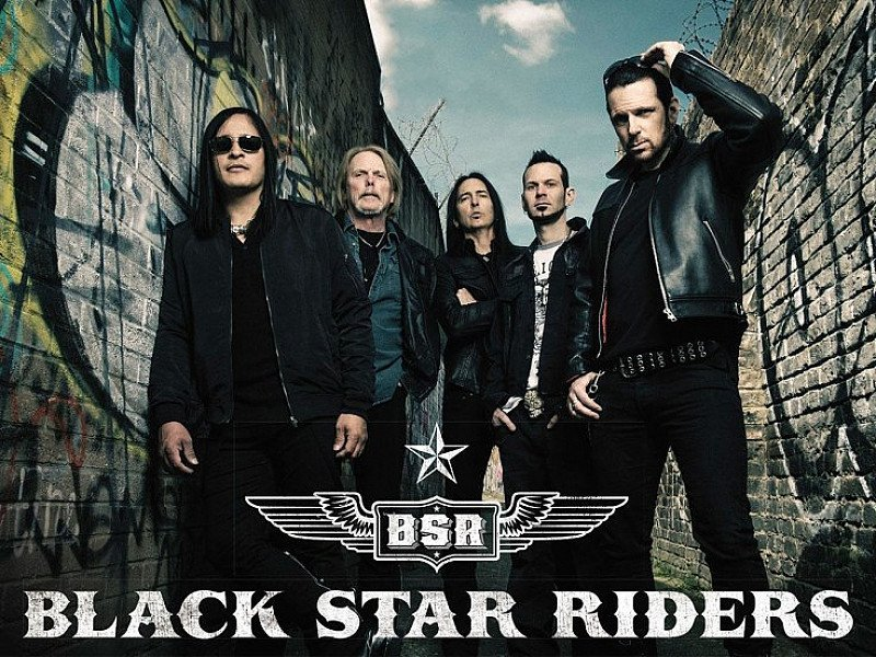 Black Star Riders - Coming Under Heavy Fire Tour