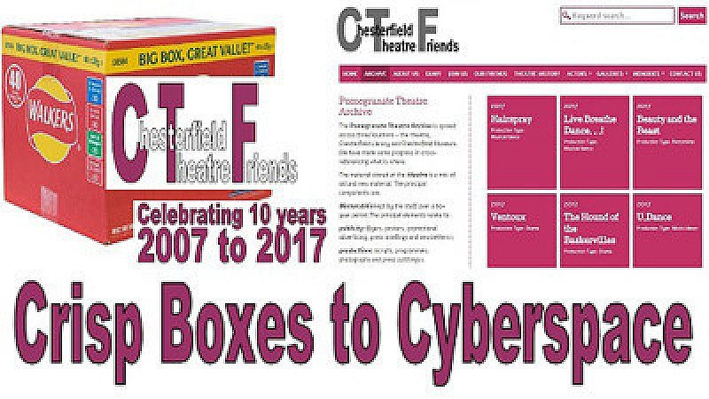 In Conversation - Crisp Boxes to Cyberspace  Presented by Chesterfield Theatre Friends