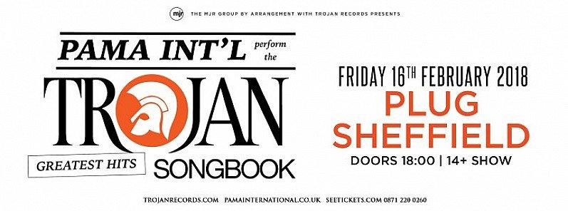 Pama International perform Trojan Records songbook