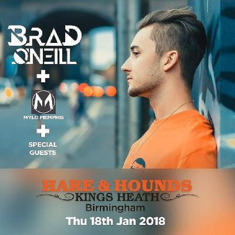 Brad O'Neill & Mylo Memphis (Ages 14+) at Hare And Hounds