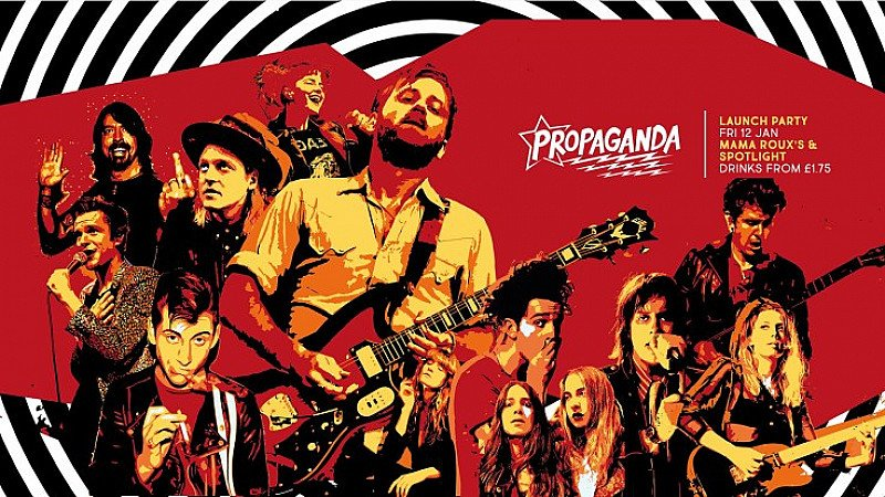 Propaganda Birmingham Launch Party at Mama Roux's and Spotlight!