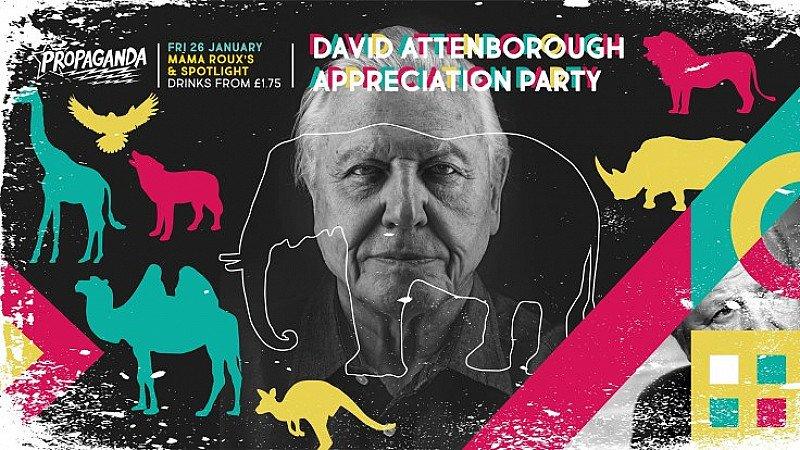 Propaganda - David Attenborough Appreciation night
