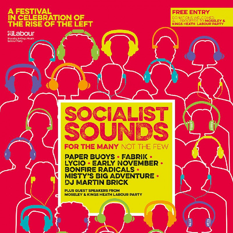 Socialist Sounds - Celebrating the Rise of the Left at Hare And Hounds