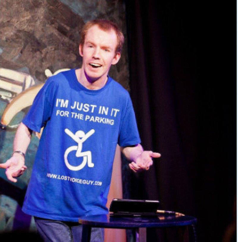 Jokes On Us present LOST VOICE GUY – WALK IN PROGRESS
