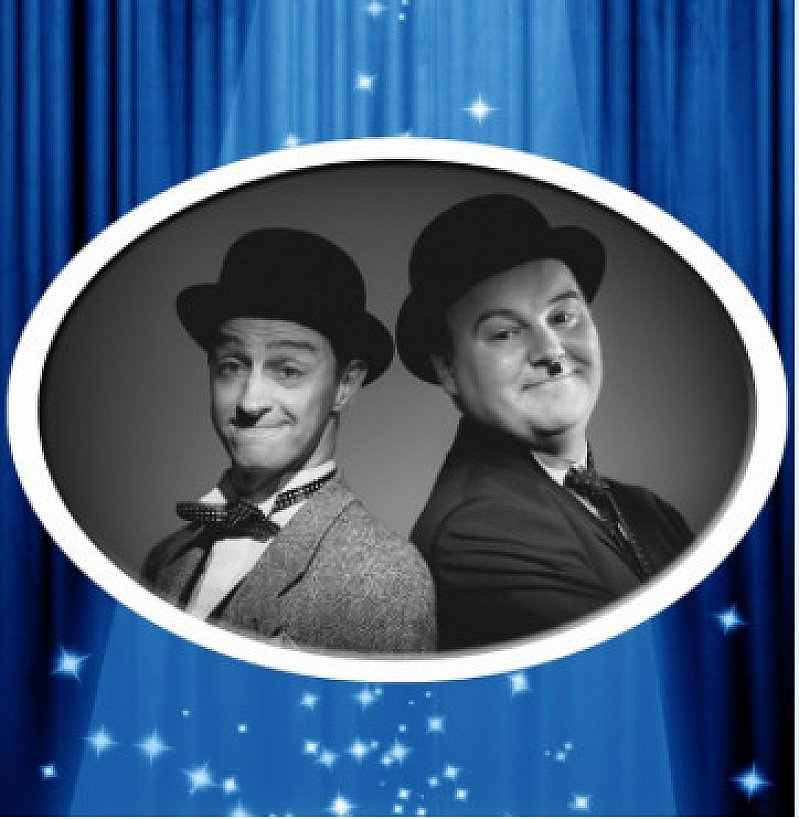 HATS OFF TO LAUREL AND HARDY