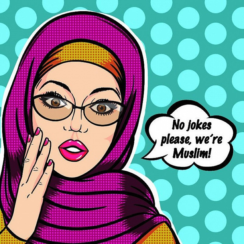 NO JOKES PLEASE, WE'RE MUSLIM!