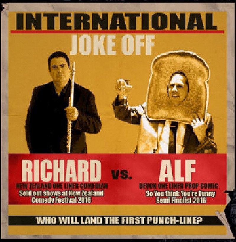 RICHARD VS ALF – INTERNATIONAL JOKE-OFF