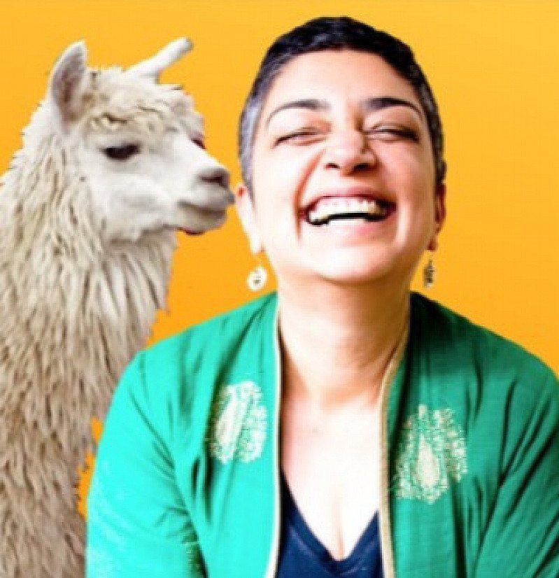 On The Cusp present SAMEENA ZEHRA: HOW NOT TO STEAL A LLAMA