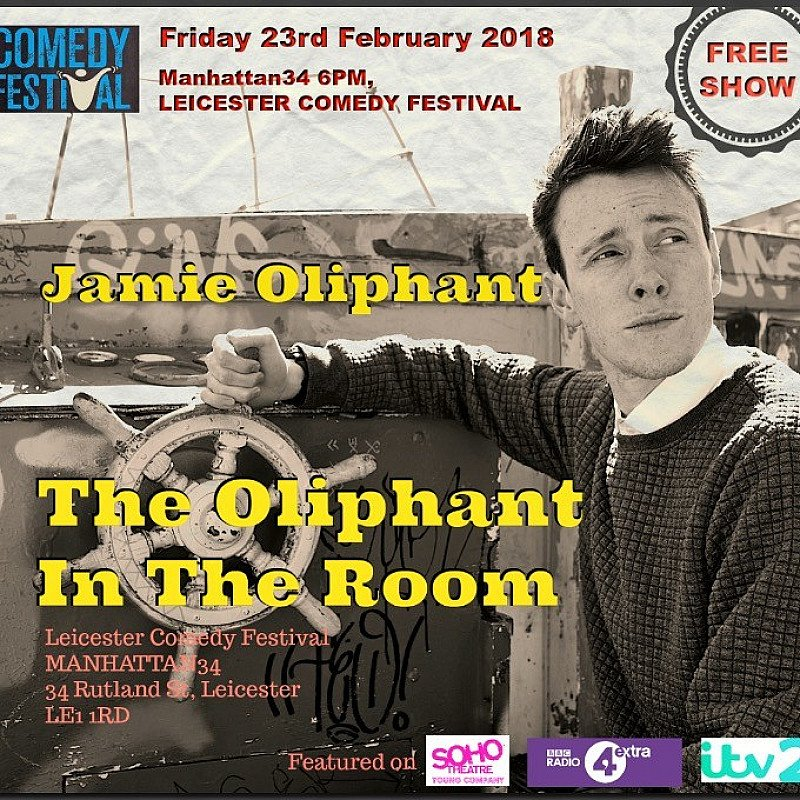 JAMIE AND THE OLIPHANT IN THE ROOM