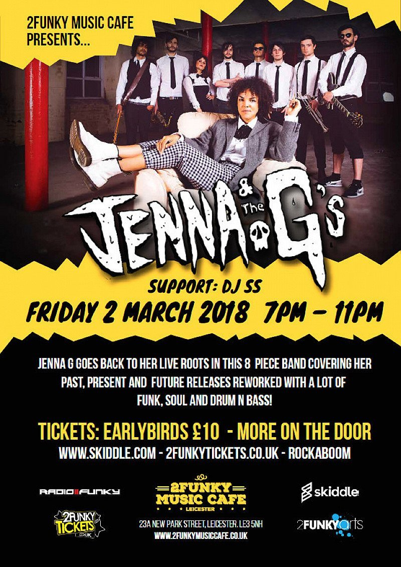 Jenna & The G's LIVE In Leicester