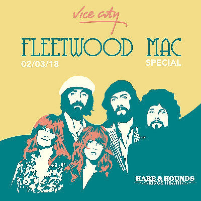Fleetwood Mac Special - Vice City at Hare And Hounds