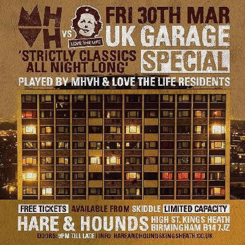 MOHO vs LTL: UK Garage Special - Free Entry at Hare And Hounds