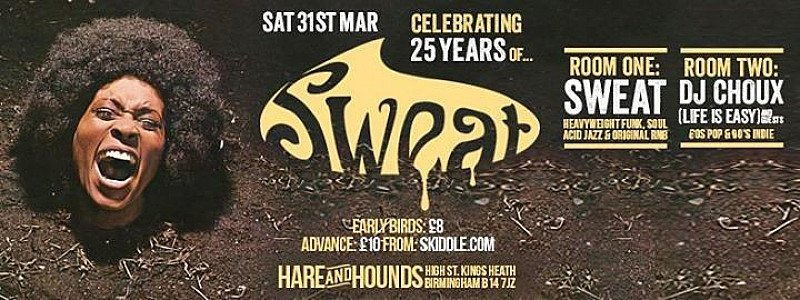 25 Years of Sweat at Hare And Hounds