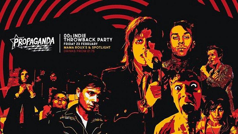 Propaganda - 00's indie throwback!