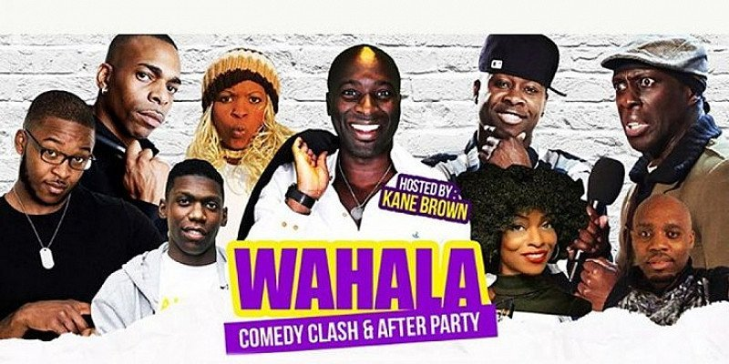 WAHALA COMEDY CLASH JAMAICA VS AFRICA