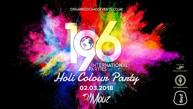 196 Presents: Holi Colour Party