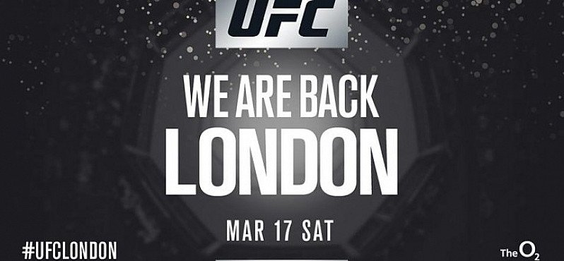 UFC Fight Night London at The O2 arena