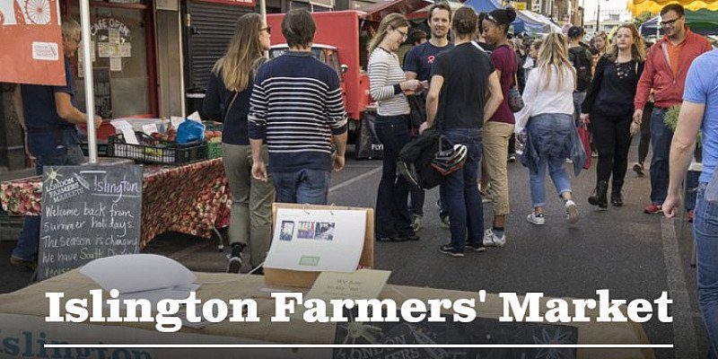 Islington Farmers' Market. Every Sunday 10am - 2pm