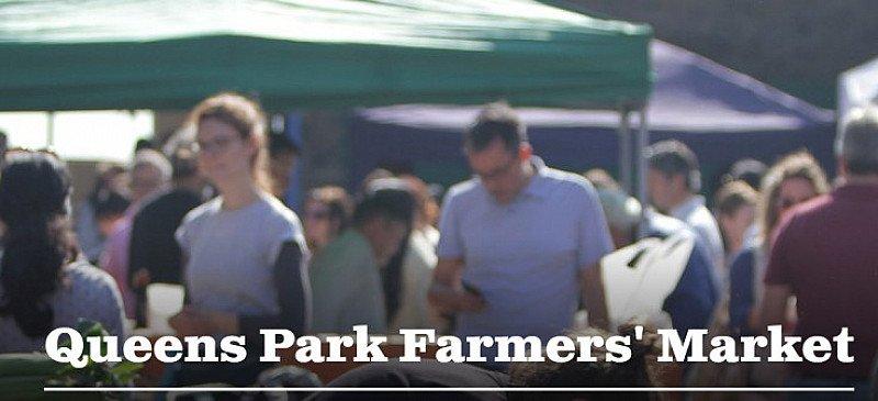 Queens Park Farmers' Market. Every Sunday 10am-2am