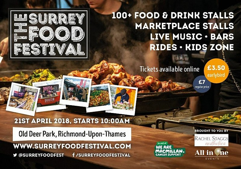 The Surrey Food Festival 2018